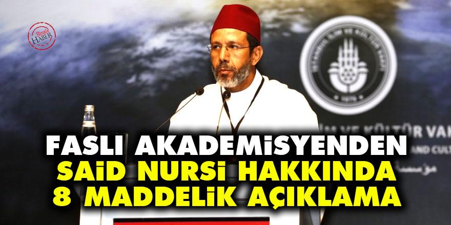 Faslı akademisyenden Said Nursi hakkında 8 maddelik açıklama