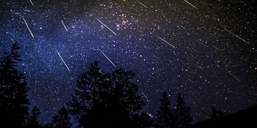 Meteor yağmuru bu gece zirve yapacak