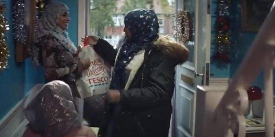 Noel reklamına Müslümanları katınca tepki gördüler