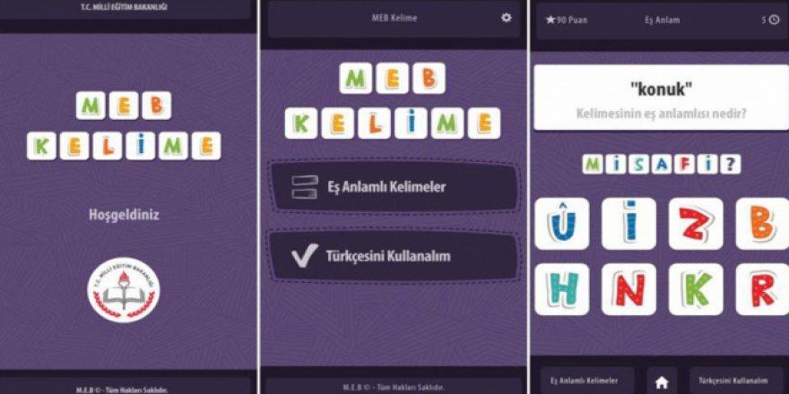MEB'den öğrencilerin eğitimlerine 'oyun'lu destek