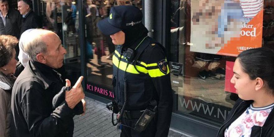 Hollanda'da polis İslam karşıtlarına müdahale etti