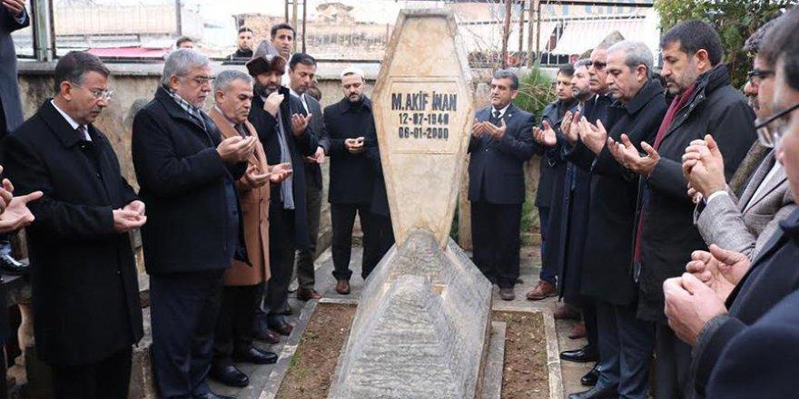 'Kudüs şairi' Mehmet Akif İnan Şanlıurfa'da anıldı