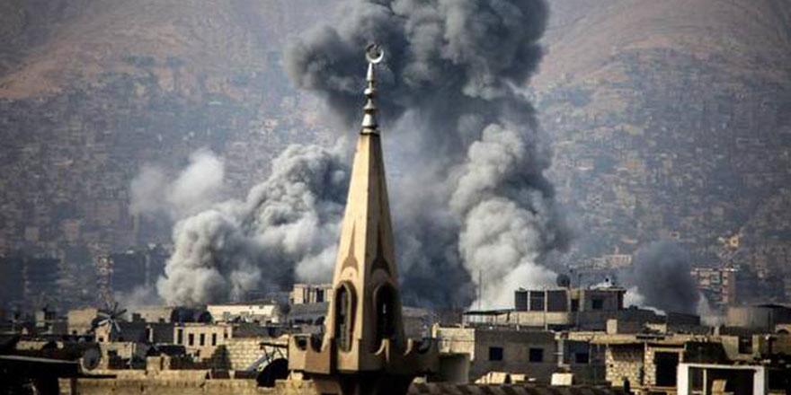 Rusya, İran ve Esed: Silahları vermezseniz Hz. Ömer Camii'ni yıkarız!