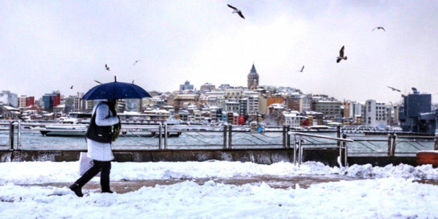 İstanbul'a kar yağacak ama tutmayacak