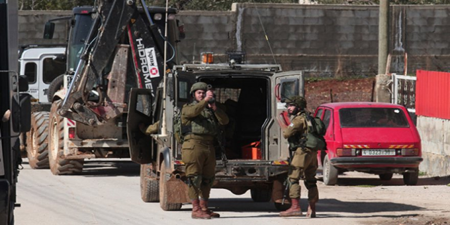 İşgalci İsrail polisi, engelli kadını silahla yaraladı