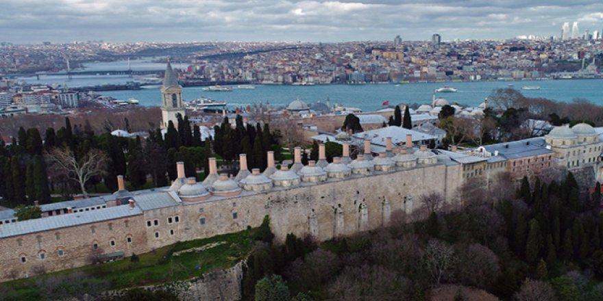 İstanbul'un en fazla turist çeken yeri Topkapı Sarayı oldu