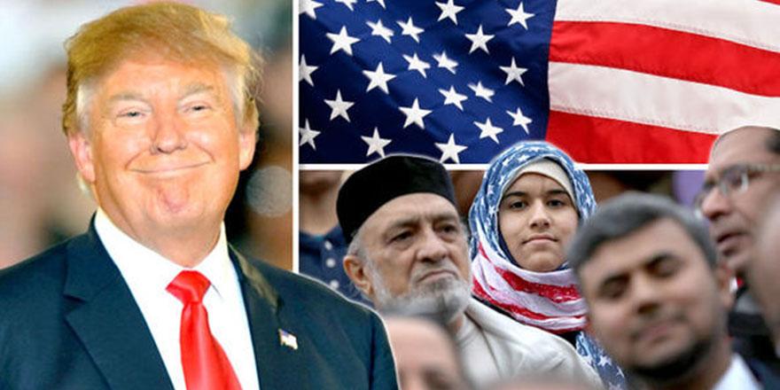 Trump'ın istediği oldu: Müslümanlar Amerika'ya gitmiyor!