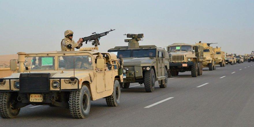 Mısır ordusunun Sina'daki operasyonları