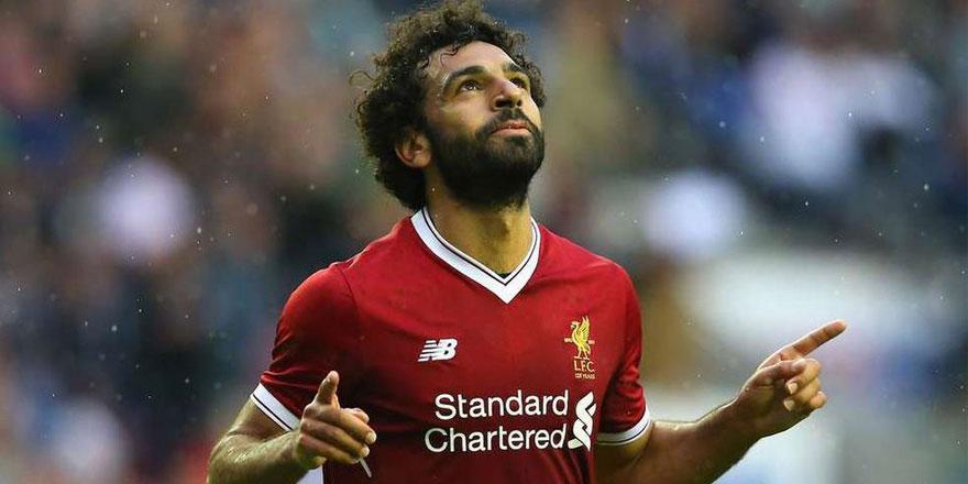 Liverpool'un Mısırlı yıldızı Salah, gol rekoruna ortak oldu