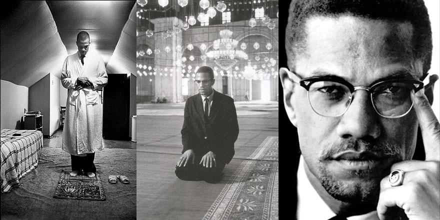 Malcolm X rahmetle anılıyor