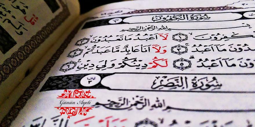 Allah'ın âyetlerini dinler, sonra da sanki hiç onları duymamış gibi