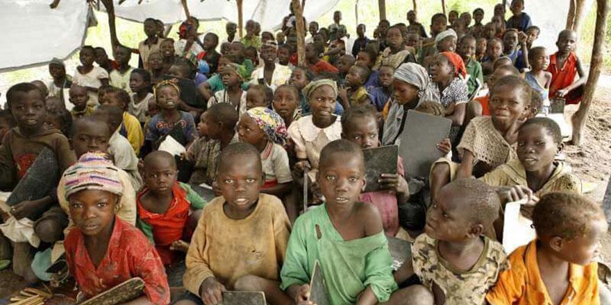 Afrika'nın durumu sömürgeci devletlerin eseri