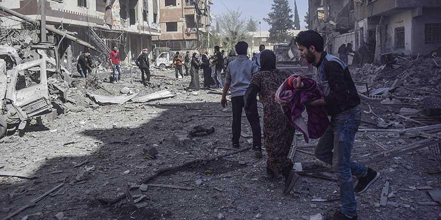 Suriye'de 750 bin sivil için uyarı