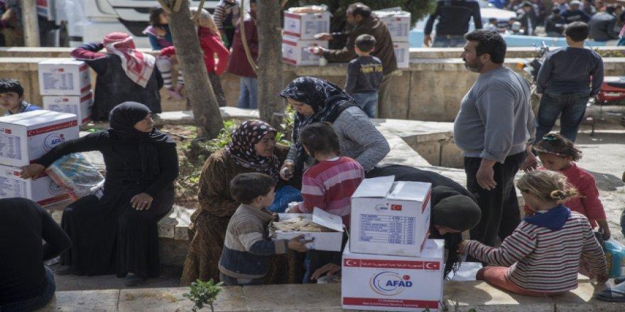 AFAD aracılığıyla 58 ülkeye 4,5 milyar liralık insani yardım