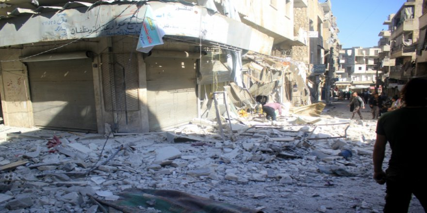 Esed rejimi İdlib'e saldırıyor