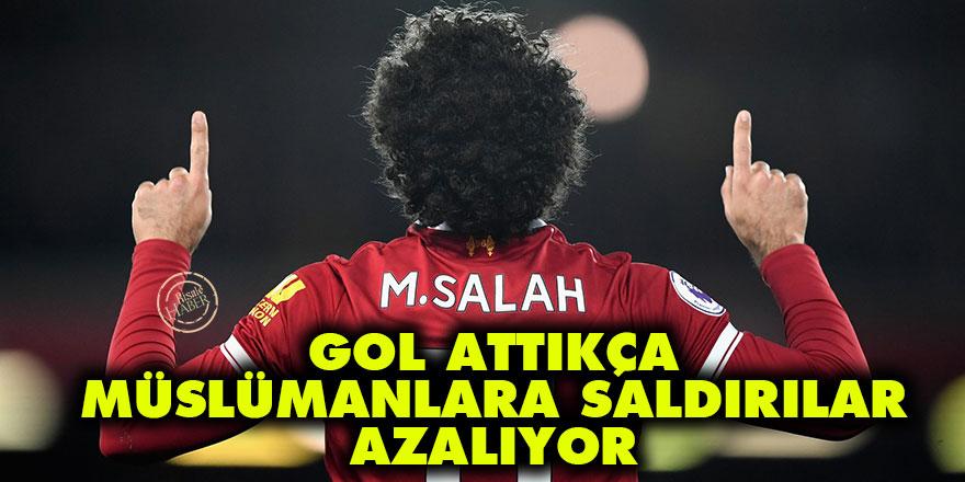 Muhammed Salah gol attıkça Müslümanlara saldırılar azalıyor
