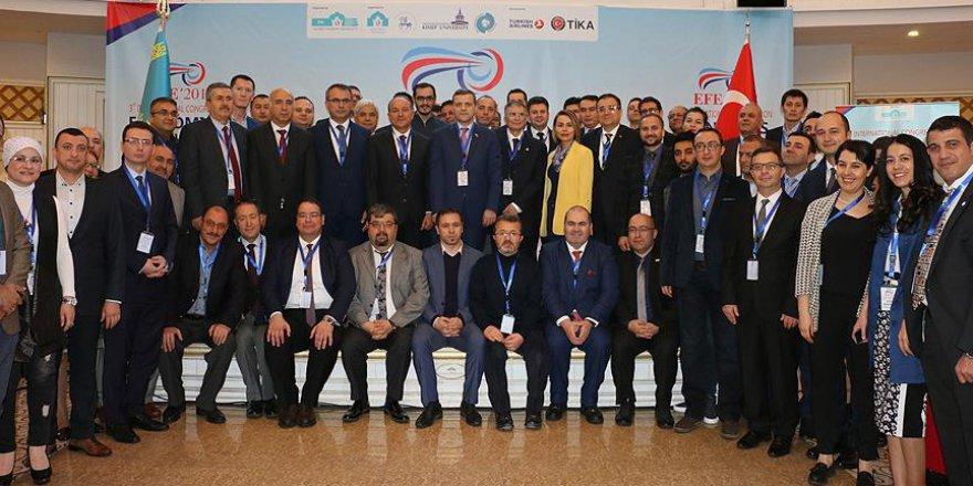 Kazakistan'da 3. Uluslararası Ekonomi, Finans ve Enerji Kongresi başladı