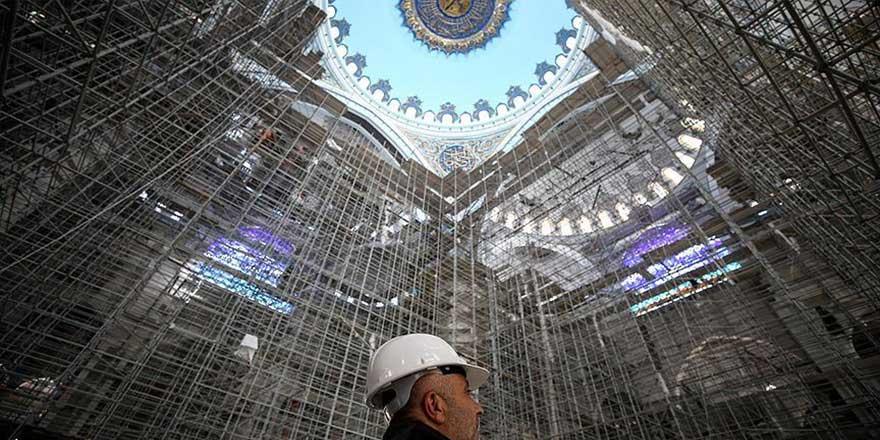 Türkiye'de her yıl inşa edilen cami sayısı açıklandı
