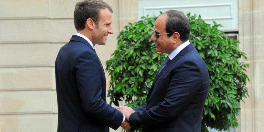 Mısır ve Fransa liderleri Suriye'yi görüştü