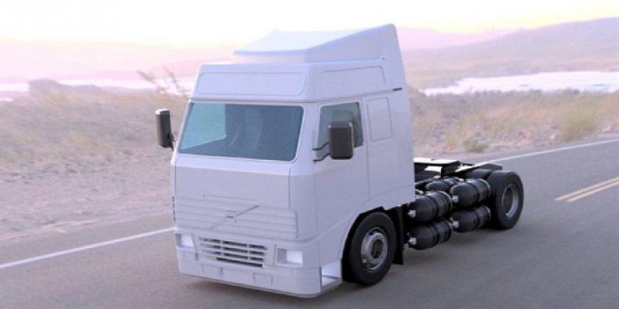 Yüzde yüz Hidrojen yakıtlı ilk kamyon