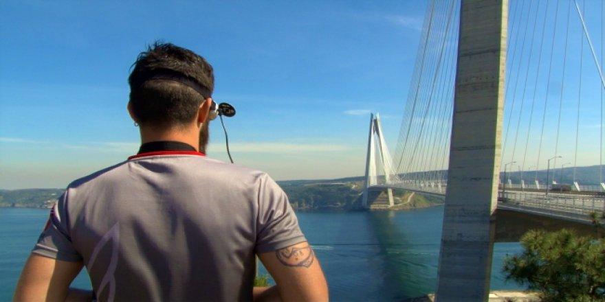 İstanbul'un 3. Köprüsünde Drone yarışı