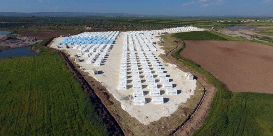 Türkiye, Doğu Gutalı mültecileri için Suriye'de çadır kentler kuruyor