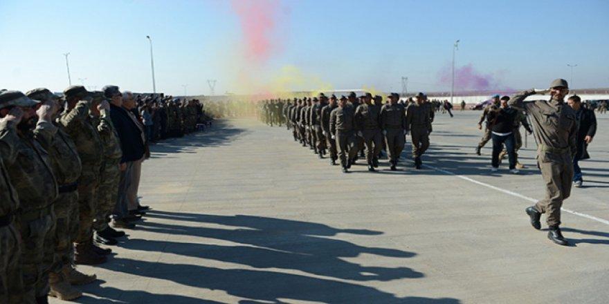 Türkiye'nin eğittiği Suriyeli polisler mezun oldu