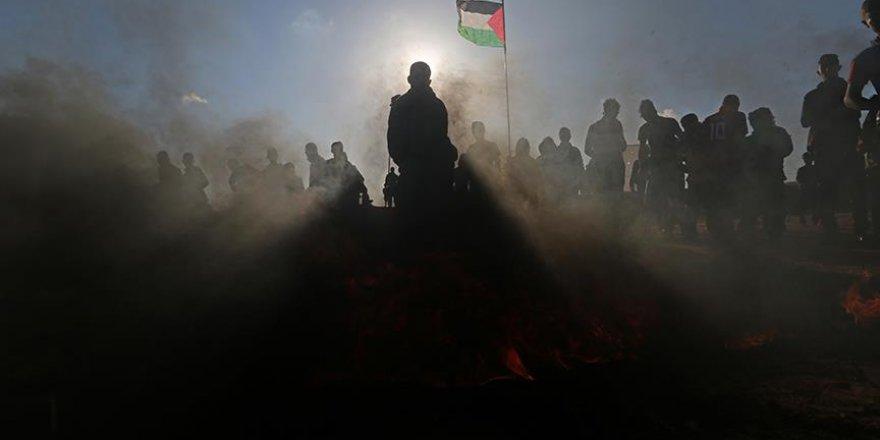 Filistinliler sürgüne karşı yürüyor
