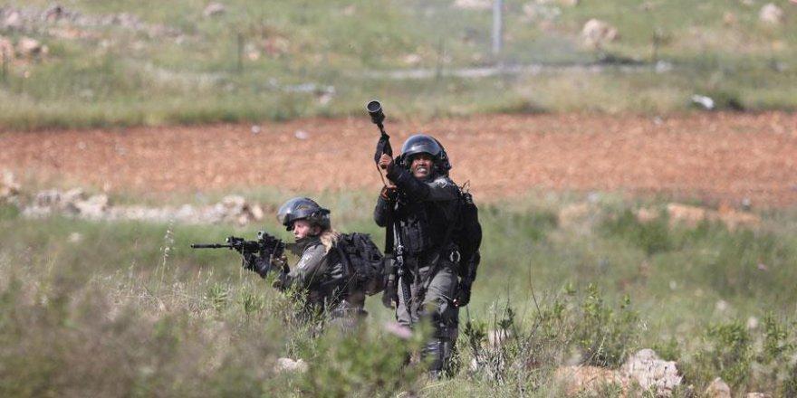 İşgalci İsrail 20 Filistinliyi yaraladı