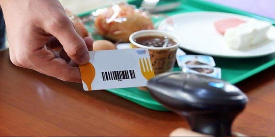 Yemek kartında komisyon sorunu çözüldü