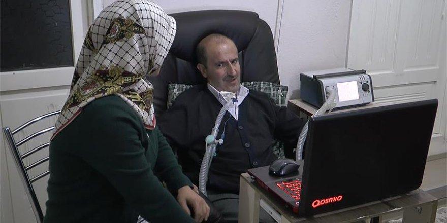 ALS hastası mühendis, projeleriyle yaşama tutunuyor