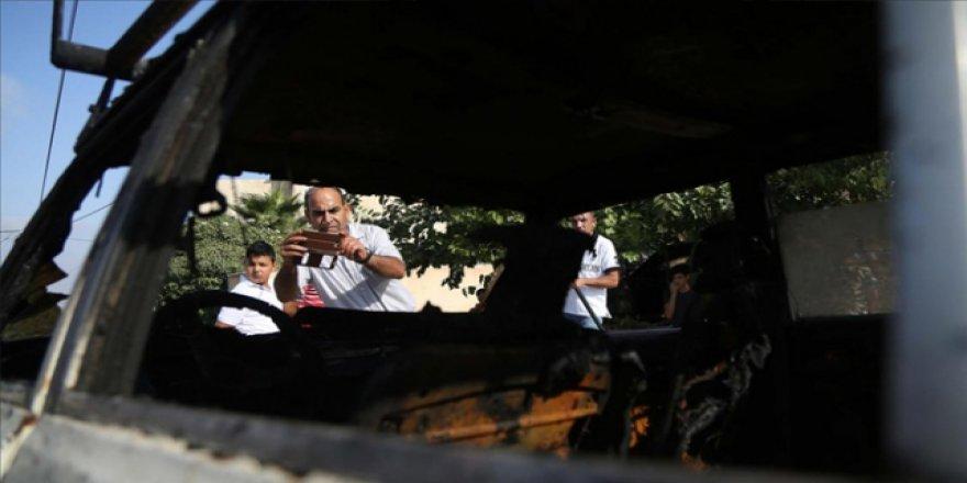 Yahudi yerleşimciler Filistinlilere saldırdı