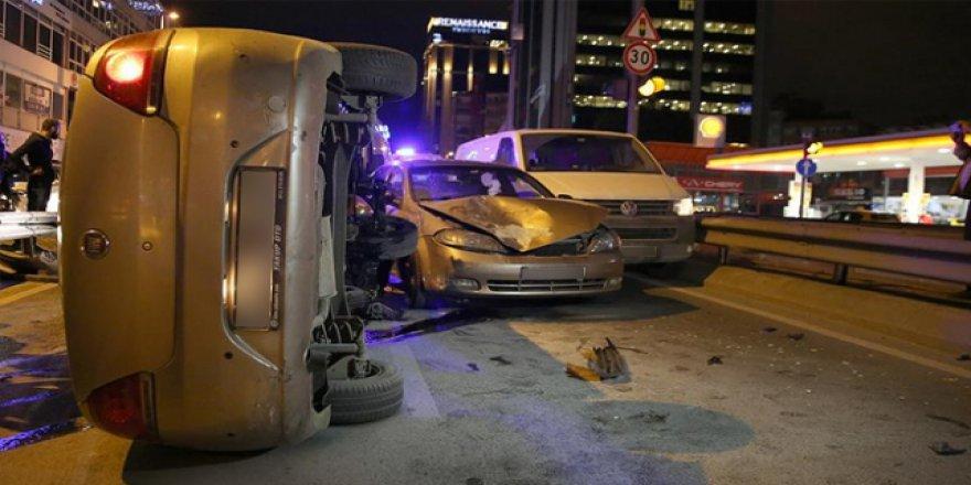 İstanbul'da trafik kazası en büyük problemlerin başında geliyor