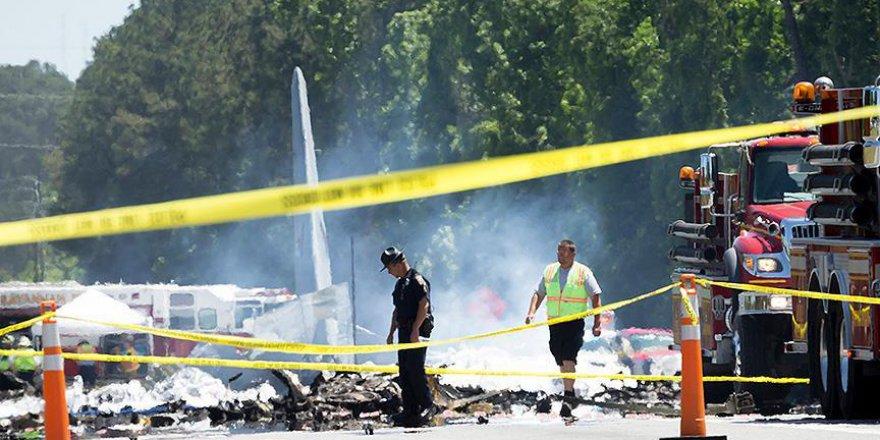 ABD'de askeri kargo uçağı düştü