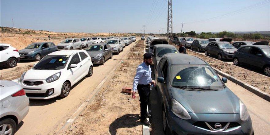 Gazze'ye araç giremeyecek