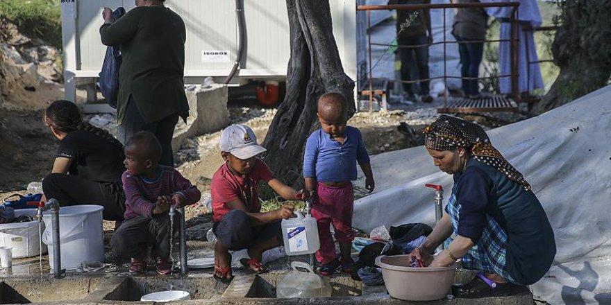 Yunan sığınmacı kampında çocukların sağlığı tehlikede