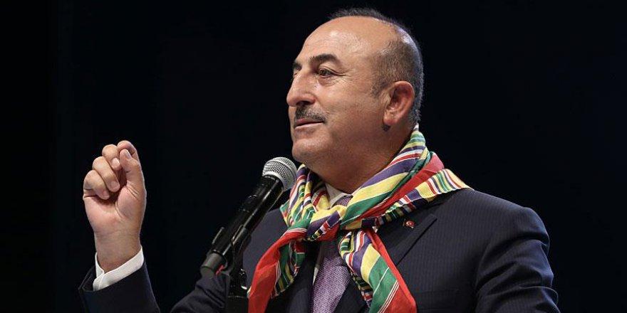 Çavuşoğlu: Tarih bilmeyenler 'Osmanlı'nın Yörüklere zulmettiğini' söylüyor