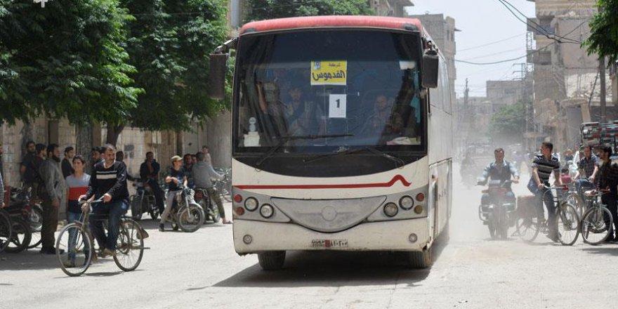 Yermük'ten ÖSO mensupları taşıyan ikinci konvoy yola çıktı