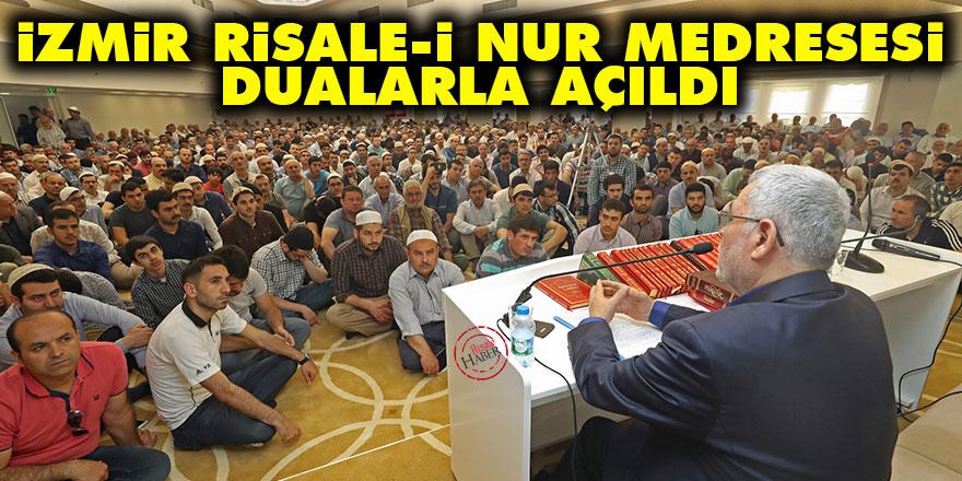 İzmir Risale-i Nur medresesi dualarla açıldı