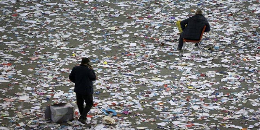 Çorum Belediyesi'nden siyasi partilere: Çevreyi kirletmeyin!