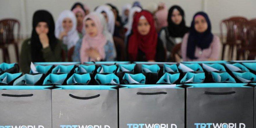 TRT World'den Barınma merkezindeki çocuklara gazetecilik eğitimi