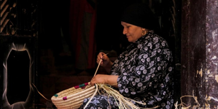 Atalardan miras kalan zanaat: Hasırcılık