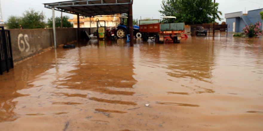 Şanlıurfa'da şiddetli yağış taşkına neden oldu