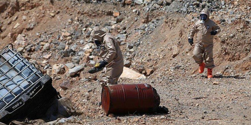 Gaziantep'te kimyasal atık paniği