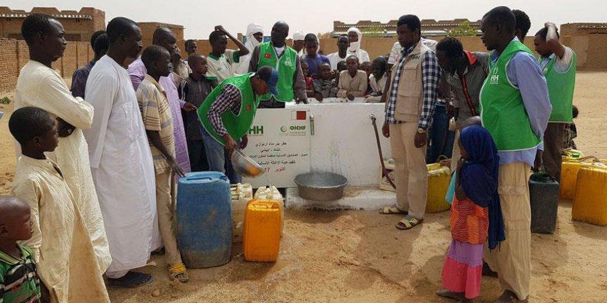 Çad'ın temiz suyu İHH'dan