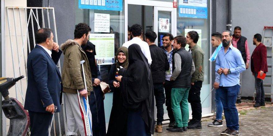 Türkiye'de yaşayan Iraklılar sandık başına gitti