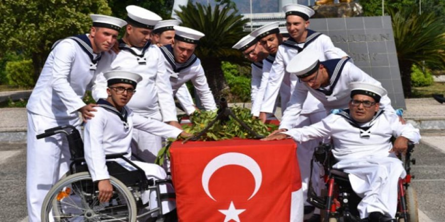 Muğla'da engellilerin askerlik heyecanı