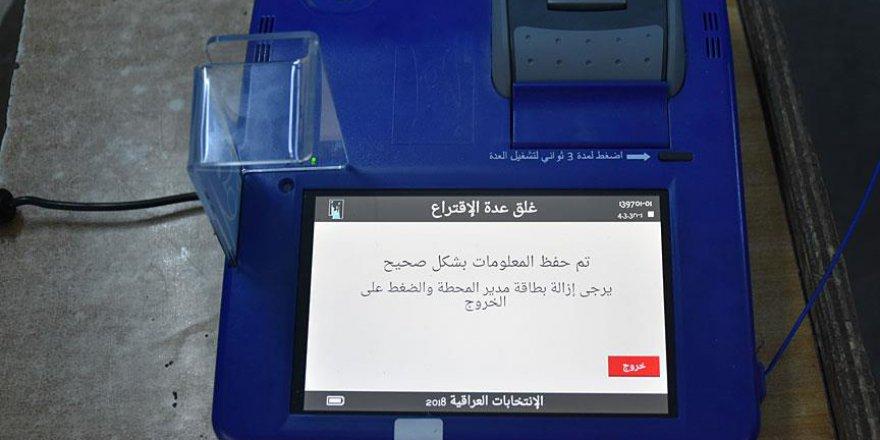 Irak'taki elektronik seçim hacklendi iddiası
