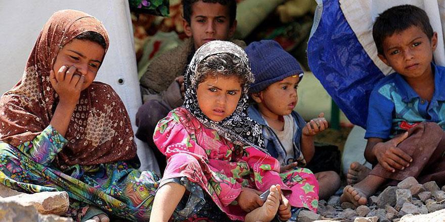 Yemen'deki çocukların yüzde 25'i okula gidemiyor