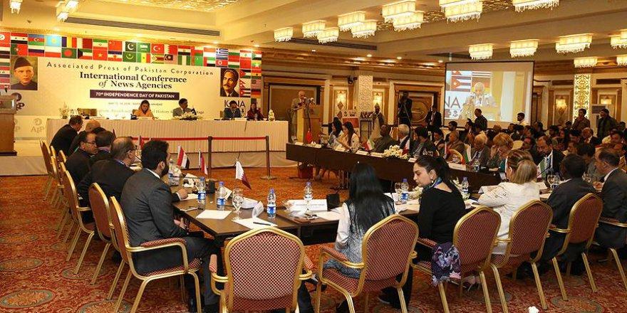 Uluslararası Haber Ajansları Pakistan'da bir araya geldi